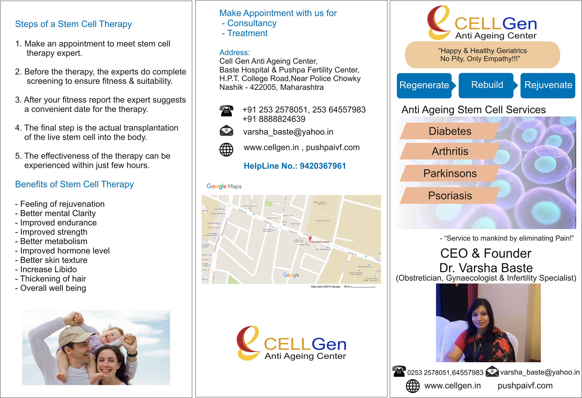 CellGen Brochure Front